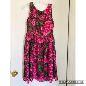 Anthropologie Eri + Ali lalia floral lace dress